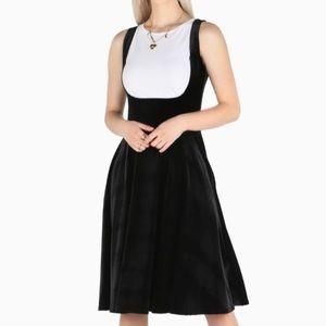 Blackmilk Show Us Ya Tops Velvet Midi Dress M